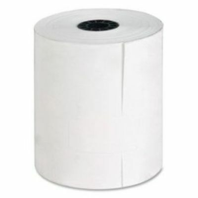 Thermal Paper Roll, 3-1/8 x 230-Feet, 25 Count, White Unbranded/Generic
