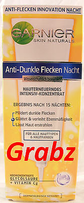 Garnier Night Concentrate Reduces Dark Spots 30 ml*Great Quality Product*