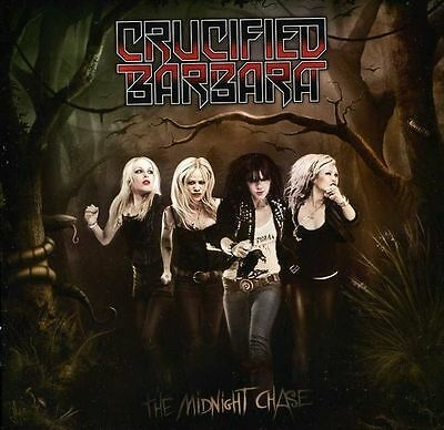 The Midnight Chase CRUCIFIED BARBARA CD ( FREE SHIPPING)