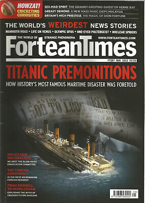 Fortean Times 287 - Titanic Premonitions - May 2012
