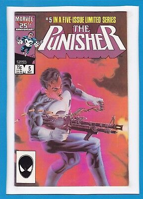 The Punisher #5_May 1986_Very Fine_Classic Mike Zeck Limited Series!