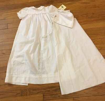 Anna Katherine Heirloom Designs Christening Gown. 12months.