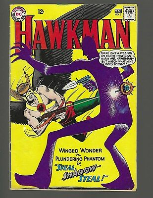 Hawkman #5 Steal Shadow Steal