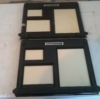 (2) Premier Photography Darkroom 4-in-1  Easels