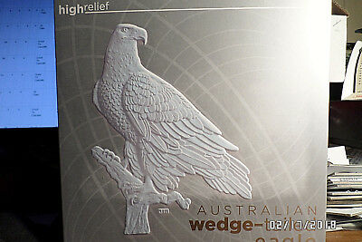 2017 5 Oz. Aust. Wedge Tail Ultra High Relief Ngc Pr 70 Ultra Cameo Perth Mint