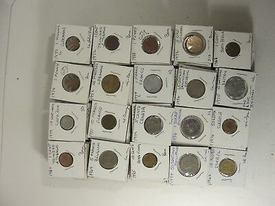 Lot of app 229 Foreign Coins VARIETY