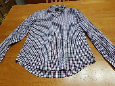 Industrie Men's Checked / Plaid Shirt WARDROBE CLEAROUT