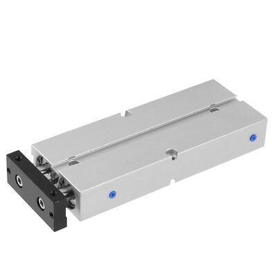 20mm Bore 1/8PT Double-rod Double-acting Aluminum Alloy Pneumatic Air Cylinder e