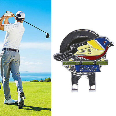 Sparrow Bird Golf Ball Marker With Magnetic Hat Clip Clamp Golf Sport Gif Dlqq