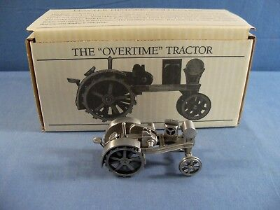 Spec Cast 1:43 Scale Pewter Overtime Tractor w/ Box JDM 044