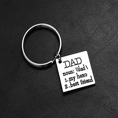 My Hero Best Friend Key Chain Father's Day Gift Key Chains