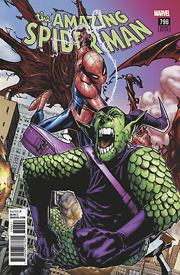 Amazing Spiderman 798 Humberto Ramos Connecting Variant Red Goblin Pre-Sale 4/4