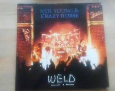 Neil young and Crazy Horse. Weld. Vinyl double LP. 1991
