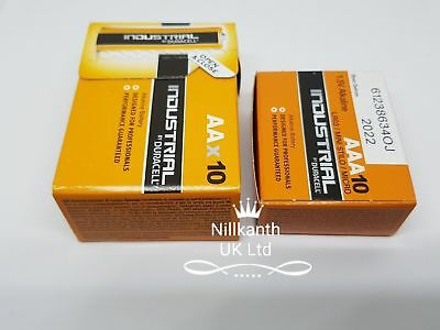 Duracell Industrial 10x AA + 10x AAA 1.5V Alkaline Batteries LR6 LR03 MX1500 UK