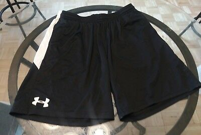 Under Armour youth XL shorts black and white