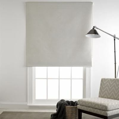 NEW freedom Silver Milton 90X210Cm Blockout Roller Blind, Silver