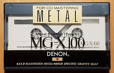 Kassette - Tape - DENON MG-X 100 - neu & ovp - TOP - see & buy