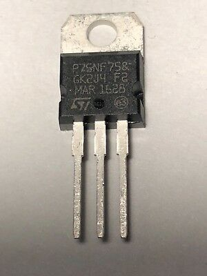 P75NF75 75NF75 STP75NF75 N-Channel Power MOSFET 75V 80A TO-220