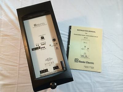 Basler Electric Be1-67 Solid State Phase Directional Overcurrent Relay Nos New