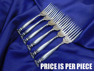 Wallace Romance Of The Sea Sterling Silver Salad Fork - Excellent Condition
