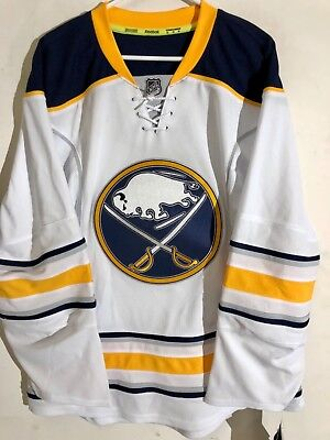 3444f5b2c REEBOK AUTHENTIC NHL Jersey Buffalo Sabres Team White sz 46 - $89.99 ...