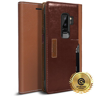 OBLIQ® for Samsung Galaxy S9 & S9 Plus [K3 Wallet] Hand Made Leather Case Cover