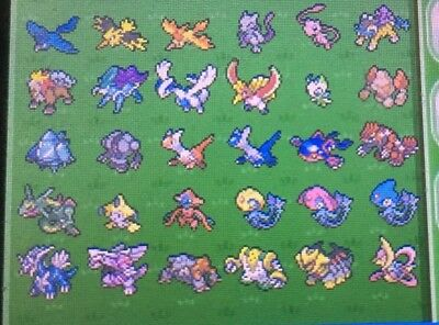 how to get all legendaries in omega ruby