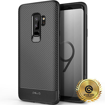 OBLIQ® Samsung Galaxy S9 & S9 Plus [Flex Pro] Black TPU Shockproof Slim Case