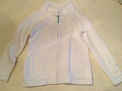 J Crew Crewcuts White Girls Zip Up Jacket 12