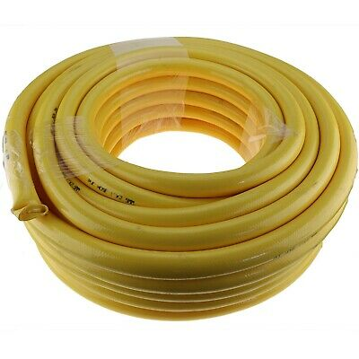 "15m x 1"" 25mm ID Outlet Wash Down Hose Water Pump Yellow"