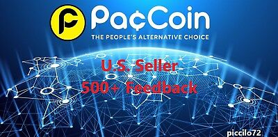 PACCOIN ( 1 Million Paccoins ) - FAST DELIVERY! PAC COIN Mining Contract