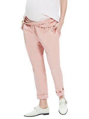 NWT Hatch Collection Maternity Ipek Pant Clay Pink Size 1