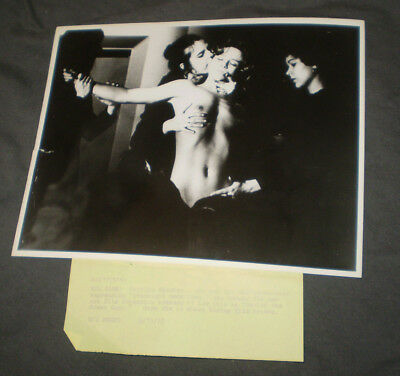 Marilyn Chambers and four offbeat movie stills