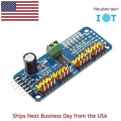16 Channel 12 bit PWM Servo Driver Shield I2C interface PCA9685 for Arduino