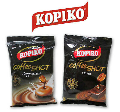 3/6/12/24 packs x 150g Kopiko Coffee Cappuccino extract hard Candy Cheapest!!!