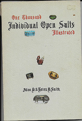 "Book One Thousand Individual Open Salts By Smith 74 Plates 9""x6"" Soft Cover 1972"
