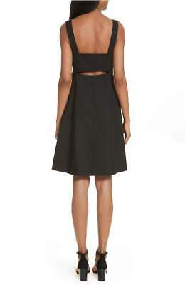 f8c8ce4f38 NEW THEORY FELICITINA Fit & Flare Dress in Black - Size 10 - $79.20 ...