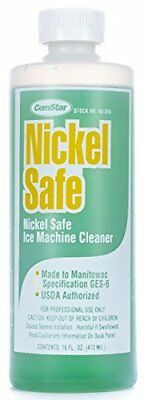 ComStar 90-356 Nickel Safe Ice Machine Cleaner, 16 oz. Bottle,White