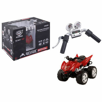 Simulation Remote Control ATV Quad Car Motorcycle 1/12 Scale 2.4G 4D RC Handles
