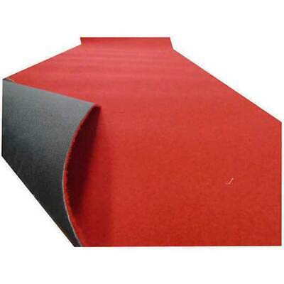 Red Carpet Hallway Runner 130cm Wide Rubber Backed Per Metre Wedding Party Floor