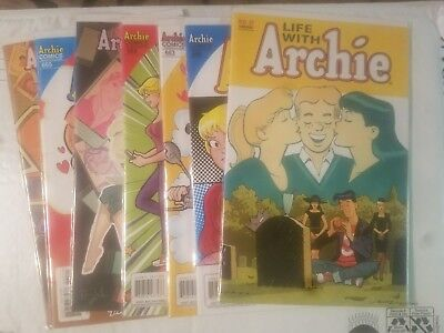 Lot of 7 Comics Unread mixed Lot, Archie books
