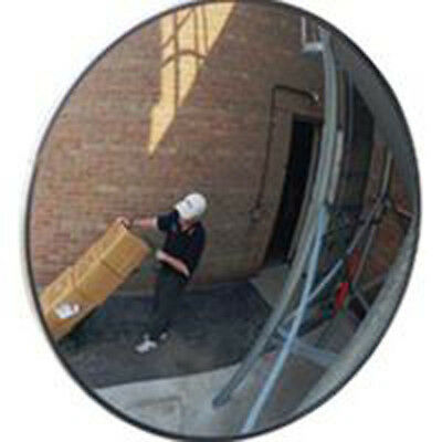 """Outdoor Polycarbonate Convex Hospital Grocery Store School Saftey Mirror 12"""" New"""