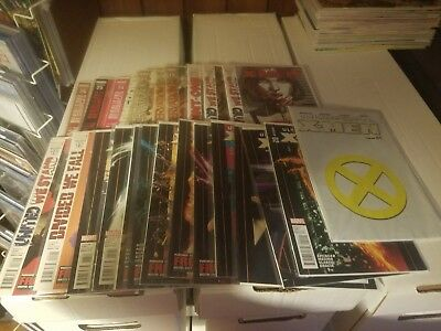 ULTIMATE COMICS X-MEN lot of 25 issues #1 is poly bagged Marvel Comics 2011 NM-