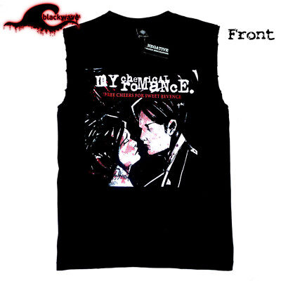 My Chemical Romance - 3 Cheers For Sweet Revenge - Modified Cut-Off Band Singlet