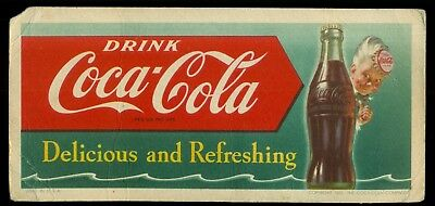 1951 Drink Coca-Cola Advertising Blotter