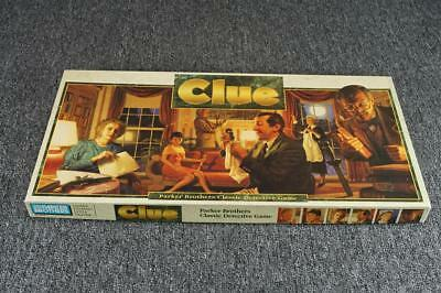 Vintage Parker Brothers Clue Board Game 1992 (Missing A Piece)