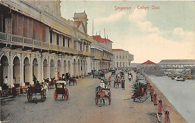 POSTCARD   SINGAPORE   Collyer   Quai