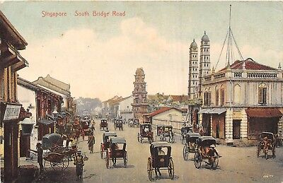 POSTCARD   SINGAPORE     South   Bridge   Road