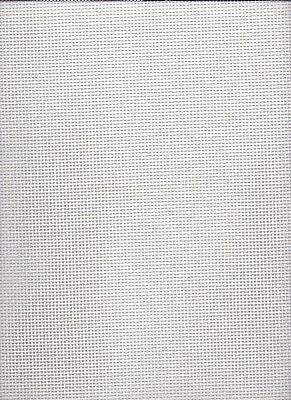 10 count  Zweigart Royal Canvas White  - size 50 x 50cms