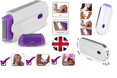 Finishing Touch Hair Remover Instant Pain Free Laser Sensor Light Hair Removal